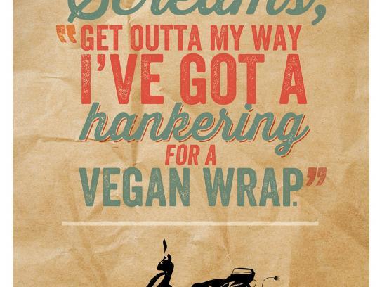 TEV Bikes Print Ad -  Vegan Wrap