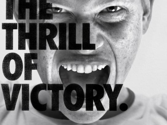 Amnesty International Print Ad - The Thrill of Victory, 3