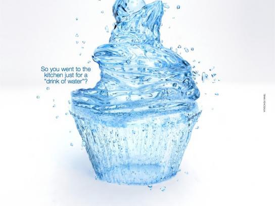 Neviot Print Ad -  Cupcake
