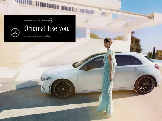 Mercedes Outdoor Ad - Original Like You