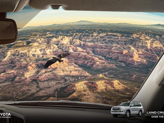 Toyota Print Ad - Over The Top, 1
