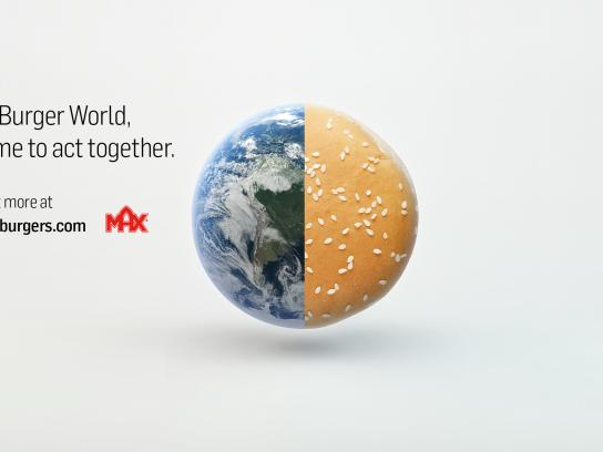 Max Burgers Digital Ad - Time to act