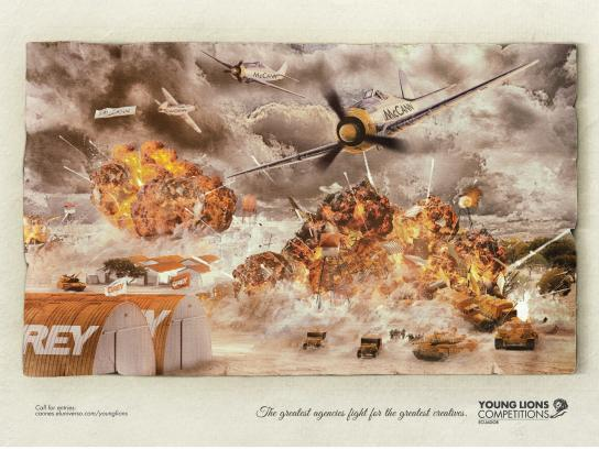 Young Lions Print Ad -  Battle of 1942