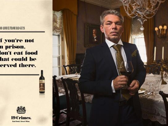 Treasury Wine Estates Film Ad -  Good advice from bad guys, 3