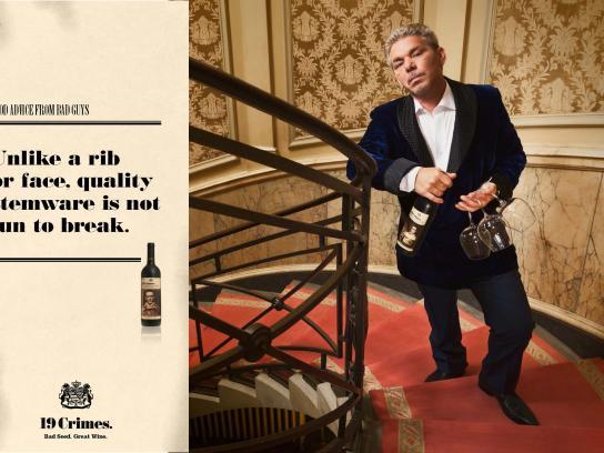 Treasury Wine Estates Print Ad -  Good advice from bad guys, 5