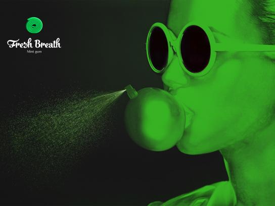 Fresh Breath Gum Print Ad - Fresh Breath, 1