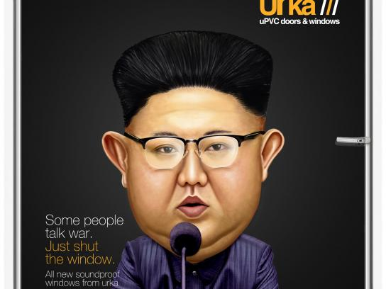 Urka Print Ad - Kim Jong-Un