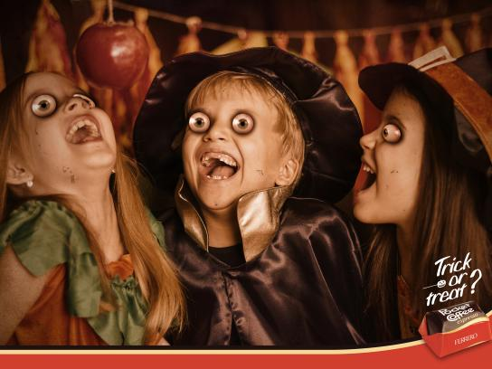 Ferrero Rocher Print Ad - Trick or Treat?, 1