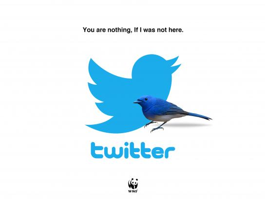 WWF Outdoor Ad - Twitter
