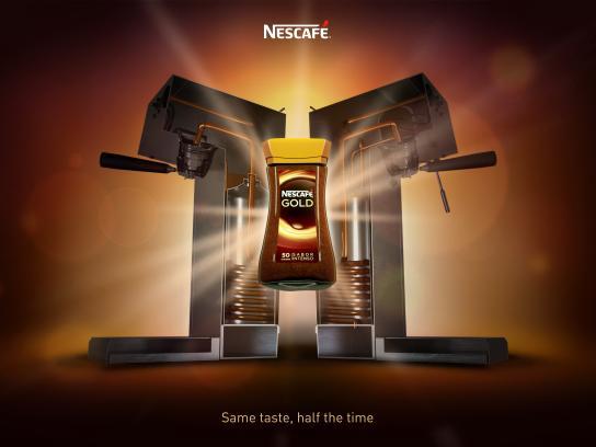 Nescafe Print Ad - Same Taste