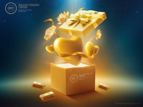 Bullion Trading Center Print Ad - Your Gift in Right Place, 2