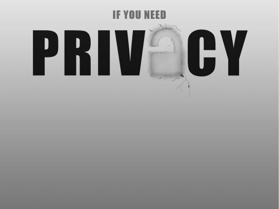 AVG Print Ad - Privacy