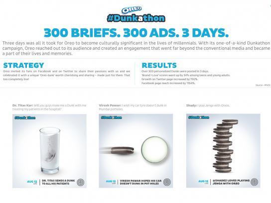 Oreo Digital Ad -  #Dunkathon