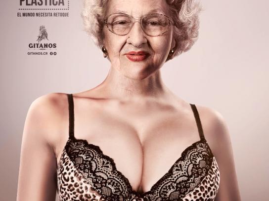 Gitanos Print Ad -  Grandma