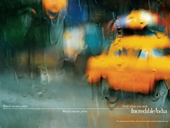 Incredible India Print Ad -  Find what you seek
