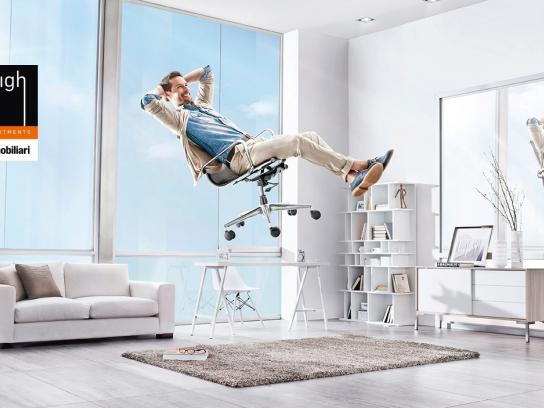 Inmobiliari Print Ad -  Floating, 1