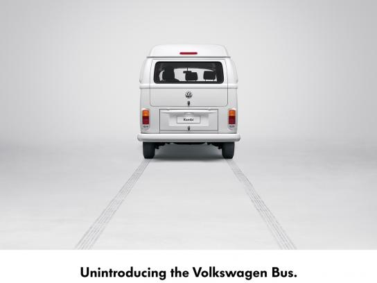Volkswagen Print Ad -  No more