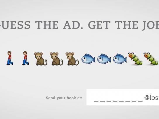 Lost Boys Paris Print Ad -  Guess the ad, 1