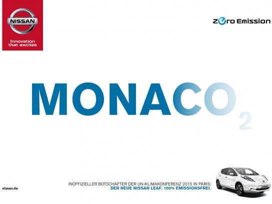 Nissan Print Ad -  Monaco