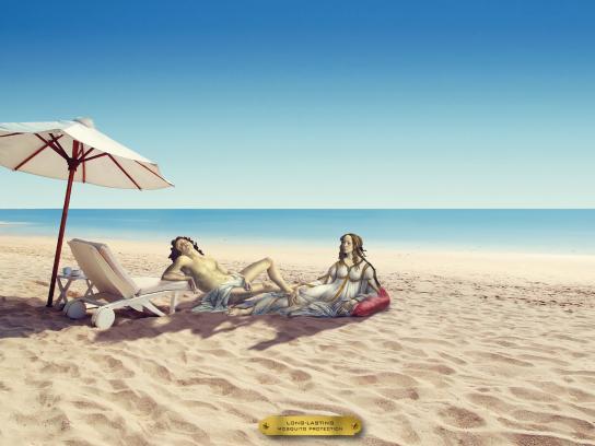 Explorador Mosquito Repellent Outdoor Ad - Beach