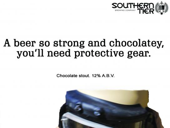Southern Tier Brewing Company Print Ad - Southern Tier Choklat Beer, 1