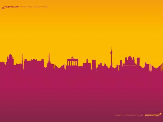 Germanwings Print Ad -  Berlistanbul