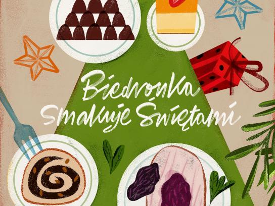 Biedronka Print Ad - Christmas