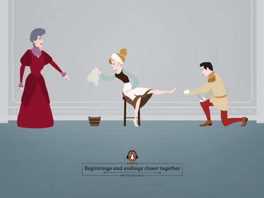 Penguin Print Ad - Cinderella