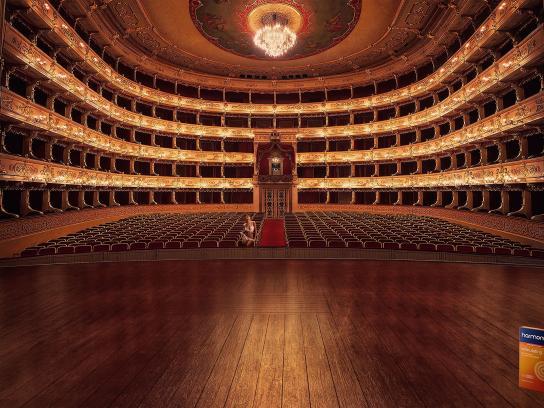 Harmony Print Ad - Il Teatro Regio di Parma