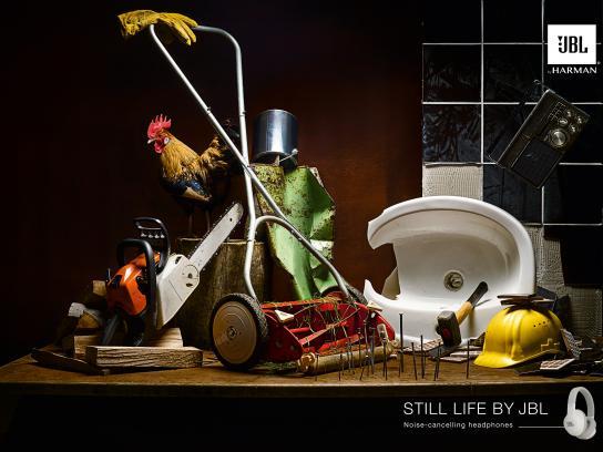 JBL Print Ad - Still Life - Garden