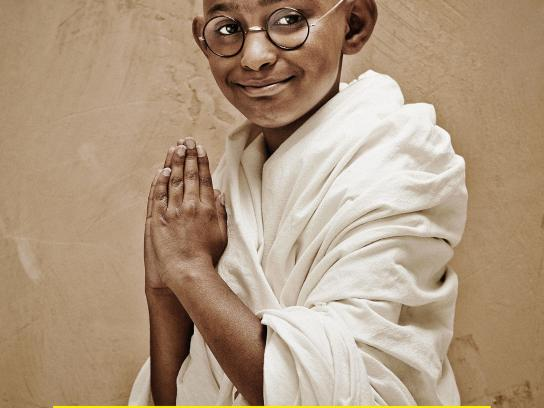 Amnesty International Print Ad -  Little Gandhi