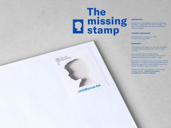Child Focus Direct Ad - The Missing Stamp