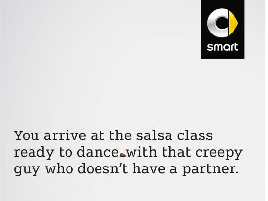Smart Print Ad - Salsa Class, 2
