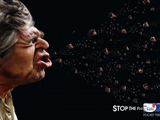 Softis Print Ad - Stop the flu, 3