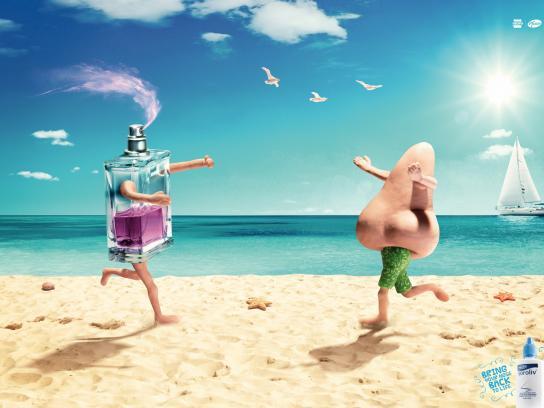 Soroliv Print Ad -  Beach