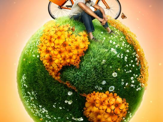 Itau Print Ad -  Swap the car for a bike