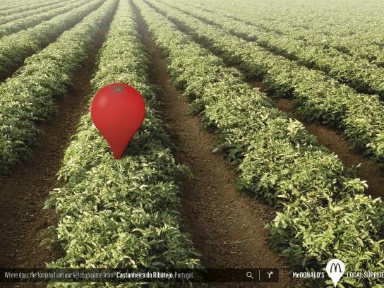 McDonald's Print Ad -  Tomato