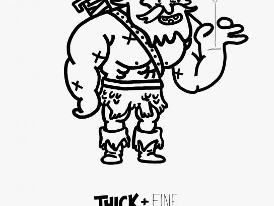 Copic Print Ad -  Viking