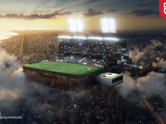 Batelco Print Ad -  Stadium