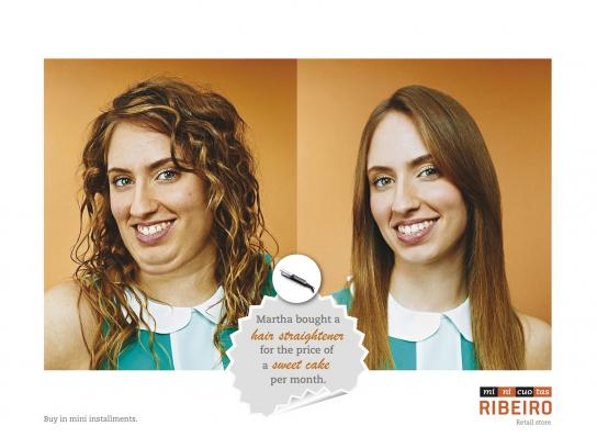 Minicuotas Ribeiro Print Ad -  Martha