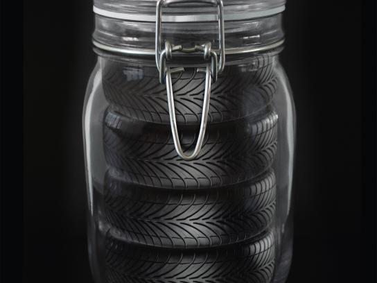 Forstinger Print Ad -  Preserving Jar
