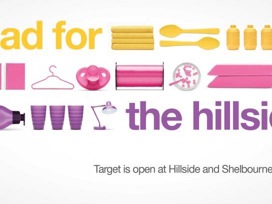 Target Outdoor Ad -  Hillside