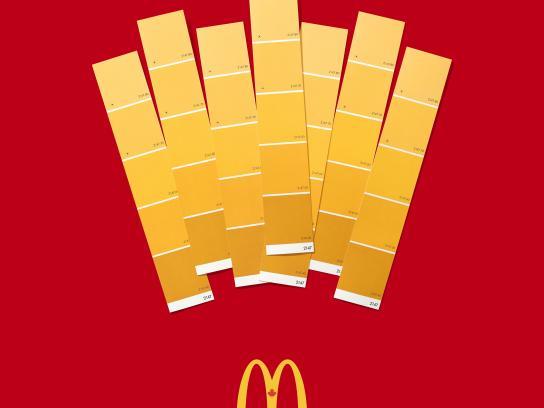 mcdonald s print advert by cossette breakfast ads of the world  mcdonald 039 s print ad fries mcdonald s fries