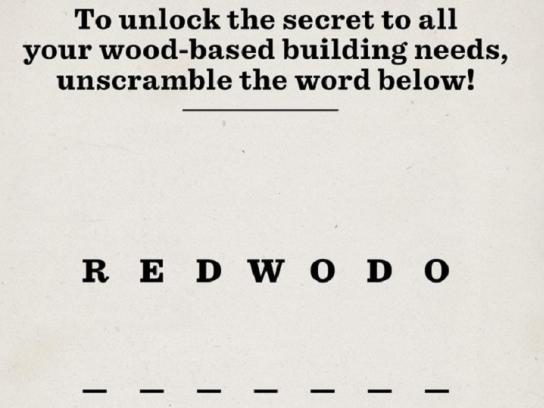 Humboldt Redwood Print Ad - The Obvious Choice, 2