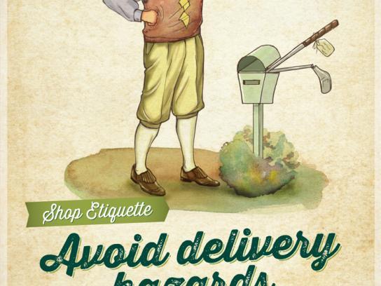 PGAShop.com.au Print Ad -  Shop Etiquette, 2