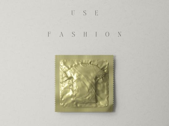 Aides Print Ad - Fashion Condoms, 1