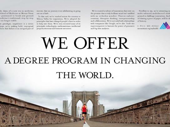 Mount Sinai Print Ad -  Offer