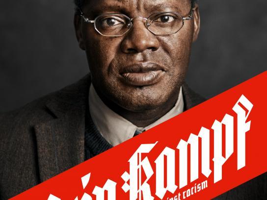 Gesicht Zeigen Print Ad - Mein Kampf – against racism – José Paca