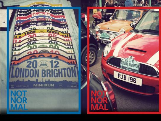 Mini Print Ad -  London to Brighton