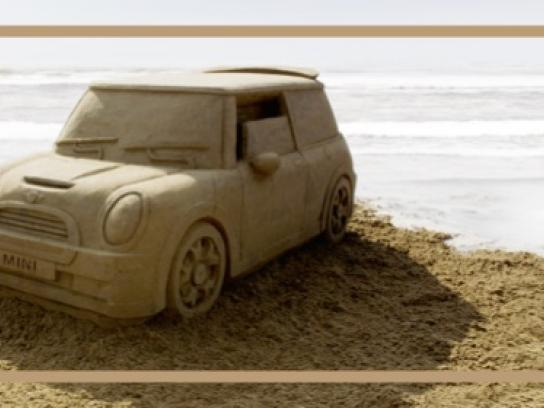 Mini Print Ad -  Sandcastle